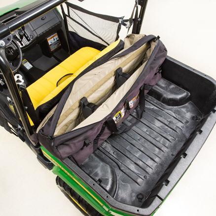 Sportsman gear bag (open)