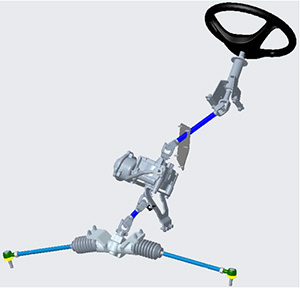 XUV590M with power steering