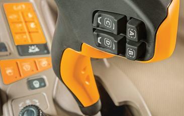 Sla de individuele instellingen van uw bestuurders voor de CommandPRO hydraulische hendel op via de tijdbesparende bedieningsinstelling.