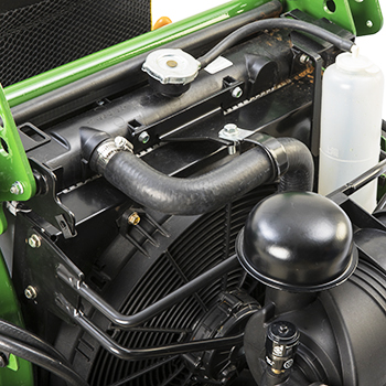 Radiator en elektrische koelventilator