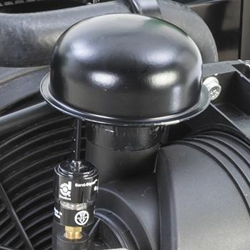 Controlelamp luchtfilterrestrictie