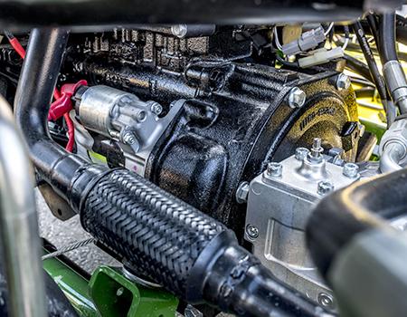 Elektronisch geregelde dieselmotor