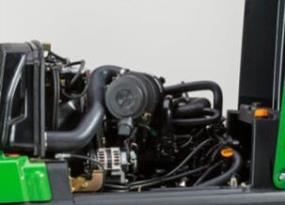 Dieselmotor met turbocompressor