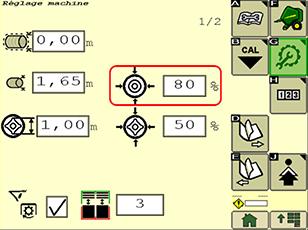Eenvoudige dichtheidsinstellingen via de monitor