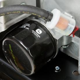 Oliefilter en brandstoffilter