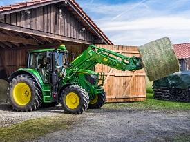 John Deere-laders uit de R-serie zijn geproduceerd met een hoog niveau van duurzaamheid