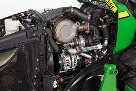 Yanmar-dieselmotor met drie cilinders uit de TNV-serie
