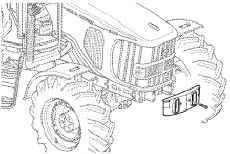 Voorste afscherming, 4 cilinders