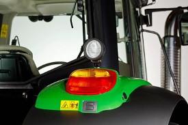 Een H3 werklamp - montage op achterspatbord, installatie rechts of links