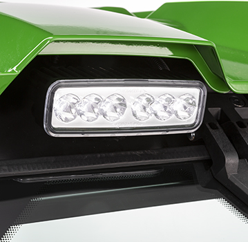 LED-verlichting met gebundelde straal