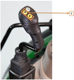 Mechanical joystick with GSS