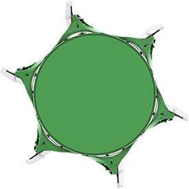 Całkowita efektywna powierzchnia separacji 25,2m²