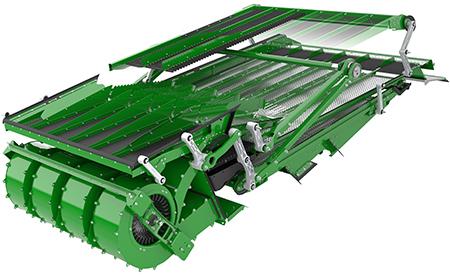 Kosz sitowy opowierzchni 7,0m² zapewnia plon o najwyższej jakości