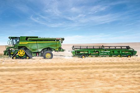 Ekonomiczna przekładnia ProDrive™ XL zdwoma silnikami hydraulicznymi