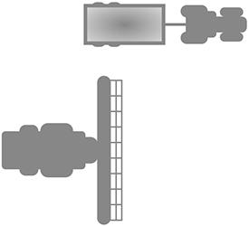 Operator zwalnia kontrolę nad ciągnikiem zprzyczepą