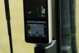 Układ AutoTrac na wyświetlaczu ciągnika