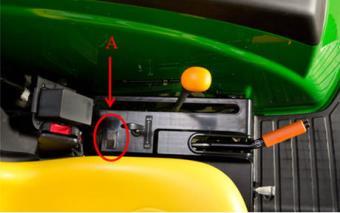 Przełącznik układu wspomagania zaczepiania hitch assist