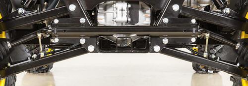 XUV — tylne zawieszenie w szczegółach