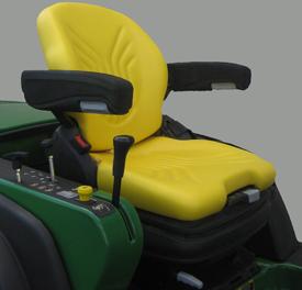 Assento com suspensão pneumática