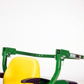 Estrutura de proteção anticapotamento (ROPS) (posição dobrada)