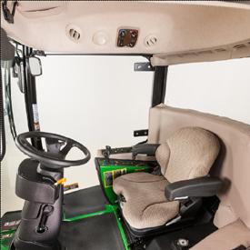 Interior da cabina ComfortCab de alta qualidade