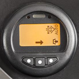 Ecrã do filtro de partículas de diesel