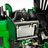 Motor a diesel de três cilindros