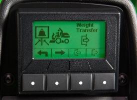 transferência do peso