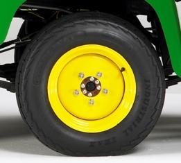 Roda e pneu dianteiros