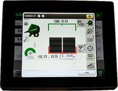 Monitor universal 4240 com página de trabalho principal da V4X1R