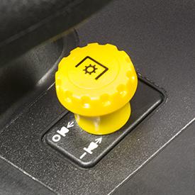 Interruptor da embraiagem da TDF