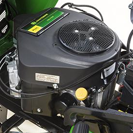 Motor bicilíndrico em V com 14,1 kW a 3100 rpm