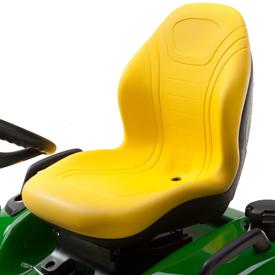 assento com encosto alto de 53,3 cm (21 pol.)