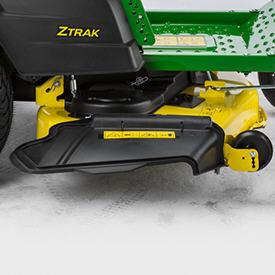 Z525E ZTrak™ com plataforma de corte Accel Deep 48A