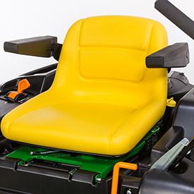 Assento ajustável (Z525E mostrado)