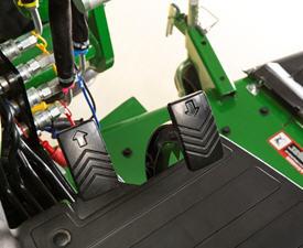 Controlos de pedal Twin Touch