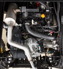 Motor diesel de 854 cc (52,1 polegadas cúbicas)