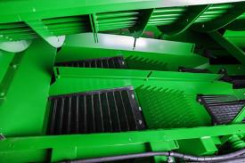 Скатная зерновая доска и система предварительной очистки