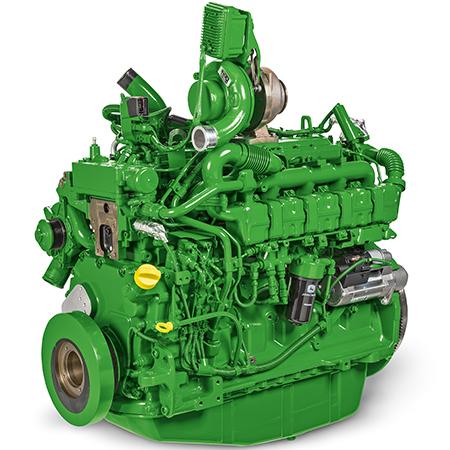 Дизельный двигатель 186,4 кВт (250 л.с.) объемом 6,8 л