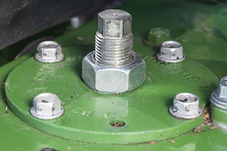 Крепежные детали для регулировки высоты съемника