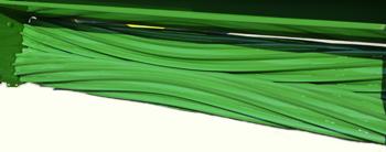 Крупный план вальцов плющилки с 10 V-образными выступами