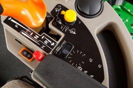 Механизм управления реверсом на косилке W150