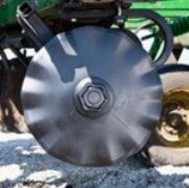 Сплошной волнистый диск с малой вогнутостью