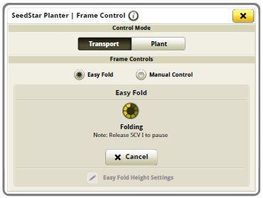 Экран в процессе работы Easy Fold