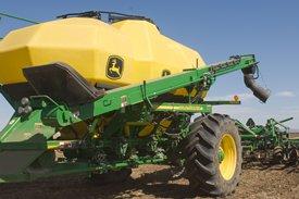 Конвейер для загрузки семян шириной 305 мм