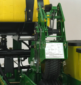 Система контактного привода колес 1765NT