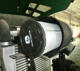 Круглый воздухоочиститель сухого типа, первичный фильтр
