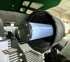 Круглый воздухоочиститель сухого типа, контрольный фильтр