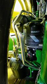 Бак и осушитель воздуха пневматического тормоза прицепа для модели 8R