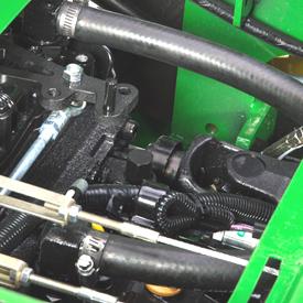 Kraftuttagets drivaxel på rotorklippare